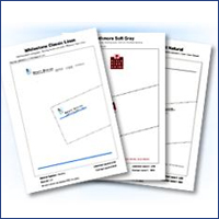 Business stationery, business cards, typesetting